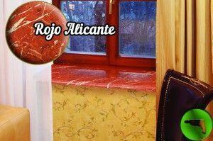 Подоконник Данке Rojo Alicante