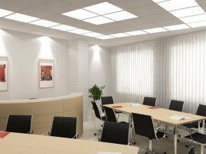 Офис с потолками армстронг