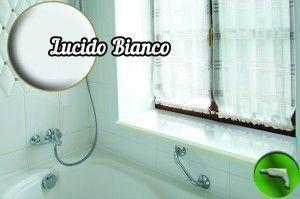 Подоконник Данке Lucido Bianco