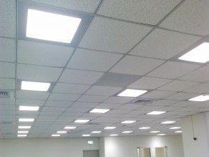 Светильники в подвесном потолке