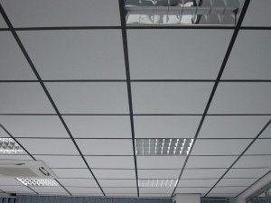 Негорючие подвесные потолки Армстронг
